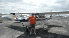 Vaughn Davis and vintage Cessna 172